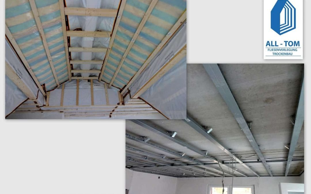 Dachbodenausbau in Bammental