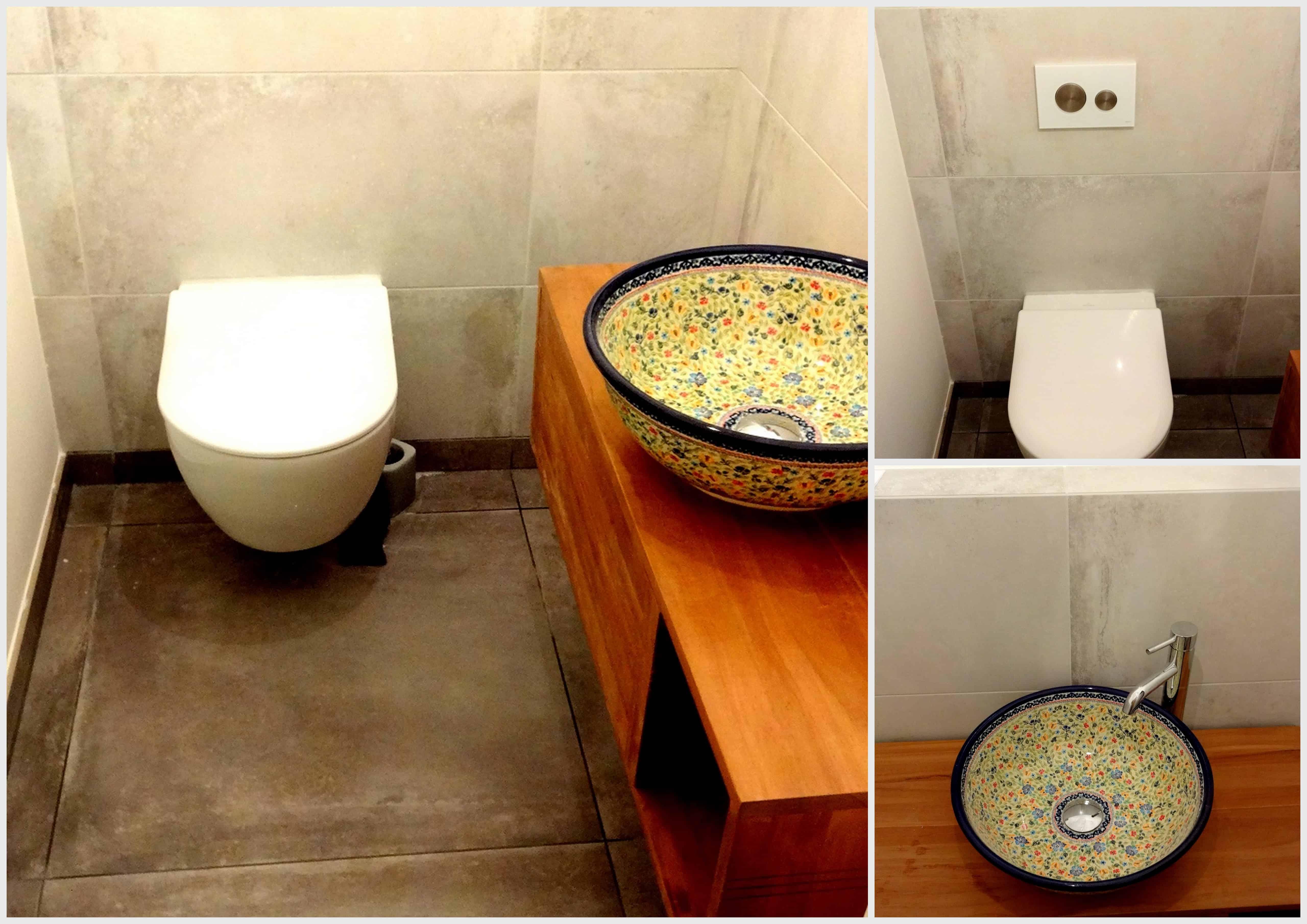 Auch ein schlichtes Gäste-WC kann bezaubern