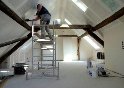 Altbausanierung aus einer Hand, Riedstadt – Dachbodenausbau