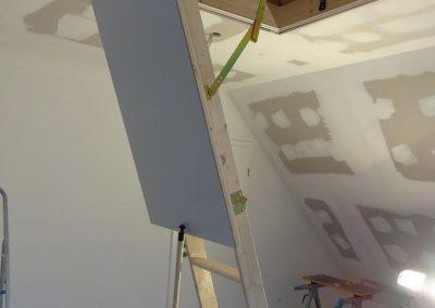 dachbodenausbau in schifferstadt, laminatverlegung & trockenbau 1