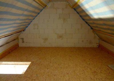 dachbodenausbau in schifferstadt, laminatverlegung & trockenbau 2