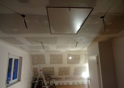 Dachbodenausbau in Schifferstadt, Laminatverlegung & Trockenbau