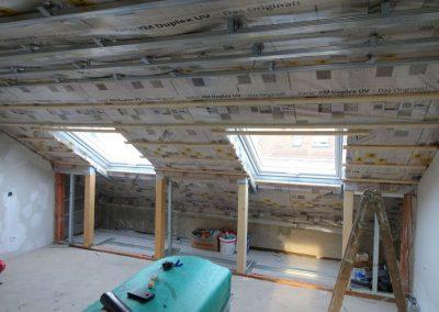 dachbodenausbau und dachdämmung 1