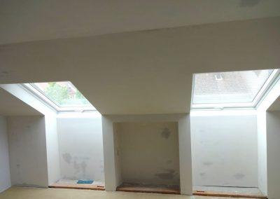 Dachbodenausbau und Dachdämmung