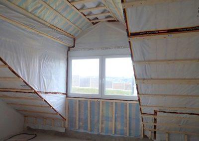 dachbodenausbau und deckenabhängung, neubau in bammental 2
