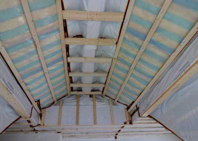 Dachbodenausbau und Deckenabhängung, Neubau in Bammental