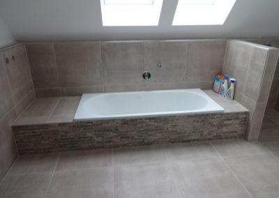 fliesenarbeiten im bad und gäste-wc, neubau in mannheim 8