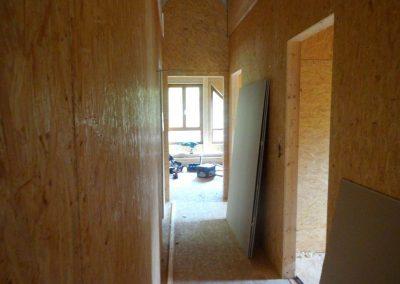 innenausbau vom fertighaus, spachtelarbeiten 1