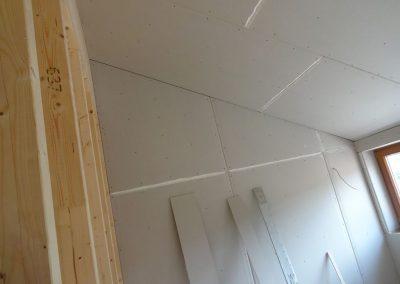 innenausbau vom fertighaus, spachtelarbeiten 3