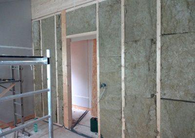 innenausbau vom fertighaus, spachtelarbeiten 5