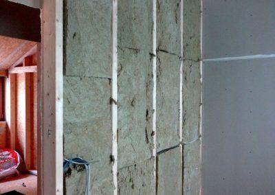 innenausbau vom fertighaus, spachtelarbeiten 6