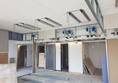 Trockenbau Büroausbau, Nextower in Frankfurt
