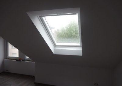 trockenbau, dachbodenausbau mit spachtelarbeiten und trockenestrich 11