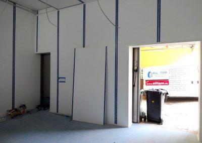trockenbau, freva system, produktionshalle in heidelberg-ziegelhausen 3