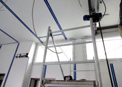 trockenbau, freva system, produktionshalle in heidelberg-ziegelhausen 8