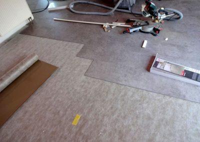 verlegung von vinylboden in plankstadt 2